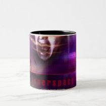 internet, net, sci fi, weird, eerie, face, girl, abstract, structures, digital, graphic, art, cyber, techno, something, strange, design, houk, cool mugs, cute mugs, mug, mugs, Mug with custom graphic design
