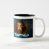 internet, net, sci fi, weird, eerie, face, girl, abstract, structures, digital, graphic, art, cyber, cyberspace, science, mind, techno, something, strange, design, houk, cool mugs, cute mugs, mug, mugs, Mug with custom graphic design