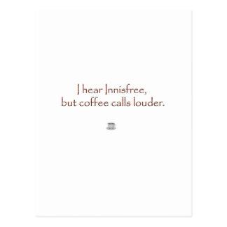 Innisfree contra el café postal