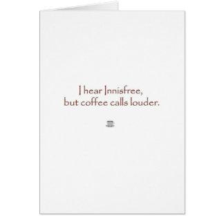 Innisfree contra el café tarjetón