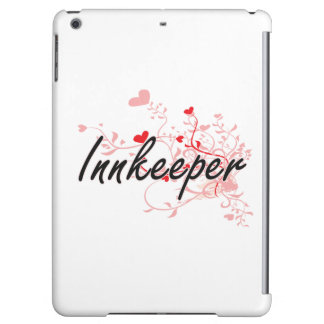 Innkeeper Artistic Job Design with Hearts iPad Air Cover