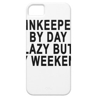 Innkeeper by Day Lazy Butt Weekend Tees.png iPhone SE/5/5s Case