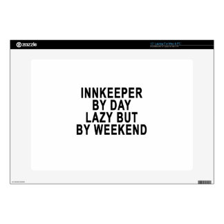 Innkeeper by Day Lazy Butt Weekend Tees.png Laptop Decal