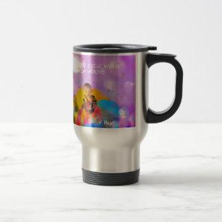 innocence. travel mug
