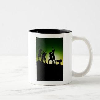 Innocence Two-Tone Coffee Mug