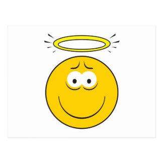 Innocent Angel  Smiley Face Postcard