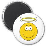 Innocent Angel  Smiley Face Refrigerator Magnet