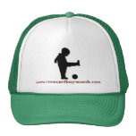 Innocent Boy Records Trucker Hat w/writing