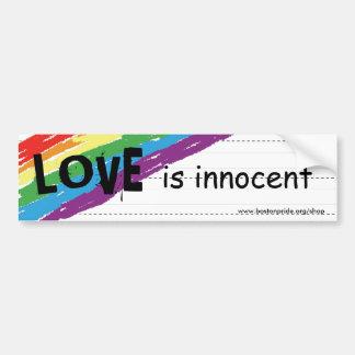 Innocent Bumper Car Bumper Sticker