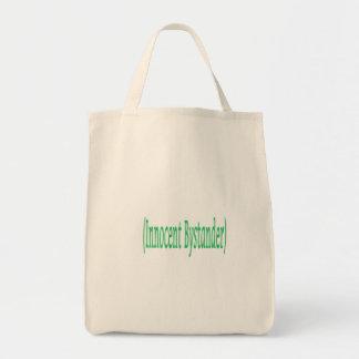 Innocent Bystander Tote Bags