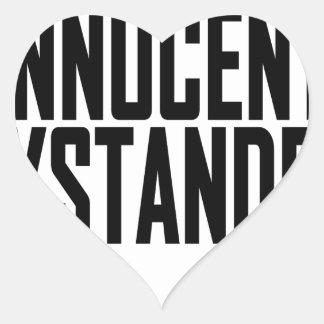 Innocent Bystander T-Shirts.png Heart Sticker
