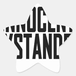 Innocent Bystander T-Shirts.png Star Sticker