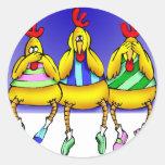 Innocent Chickens Sticker