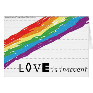 Innocent Greeting Card
