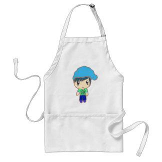 innocent guy adult apron