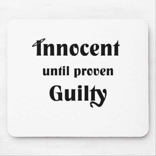 Innocent hasta culpable probada tapetes de ratones