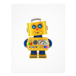 Innocent looking toy robot flyer