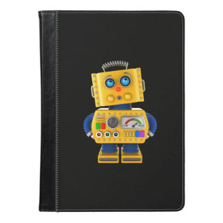 Innocent looking toy robot iPad air case