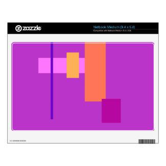 Innocent Purple Medium Netbook Skins