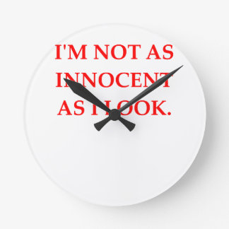 INNOCENT ROUND CLOCK