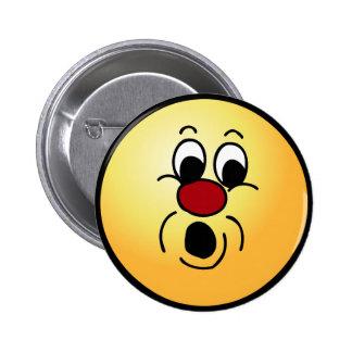 Innocent Smiley Face Grumpey Button