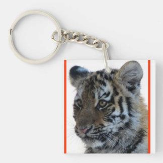 """Innocent"" Tiger Cub Keychain"
