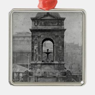 Innocents del DES de Fontaine, 1547 Adorno Navideño Cuadrado De Metal