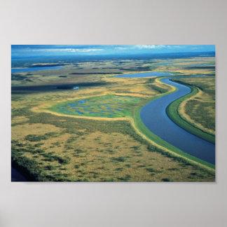 Innoko Refuge Meandering River Print