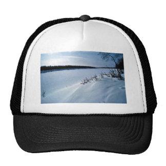 Innoko River in Winter Trucker Hat