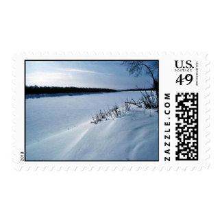 Innoko River in Winter Stamps