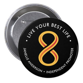 Innov8tive 8 Personalized Pinback Button