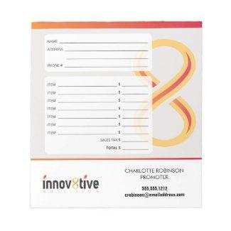 Innov8tive Nutrition Receipt