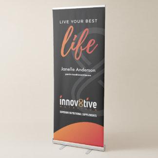 Innov8tive Nutrition Retractable Banner