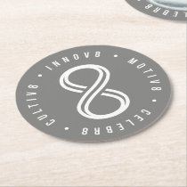 Innov8tive Round Paper Coaster