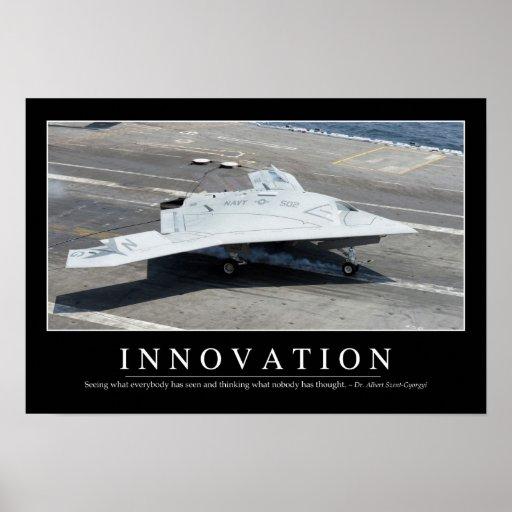 Innovación: Cita inspirada 1 Póster