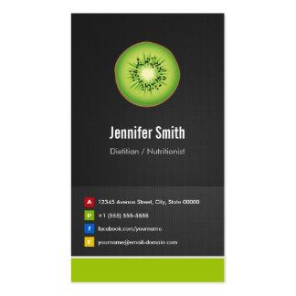 Innovador creativo de la dieta el dietético/del nu plantillas de tarjetas personales