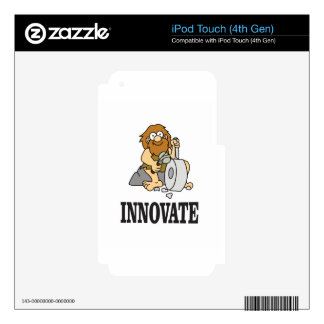 innovation caveman iPod touch 4G decal