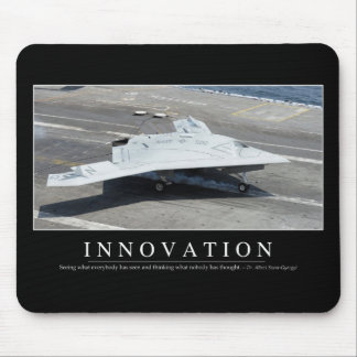 Innovation: Inspirational Quote 1 Mouse Pad