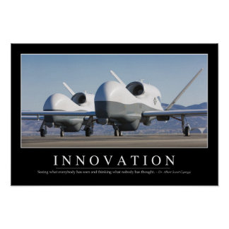 Innovation: Inspirational Quote 2 Poster