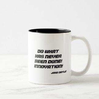 INNOVATION Two-Tone COFFEE MUG