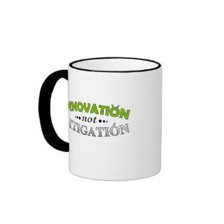 Innovation NOT Litigation Mug