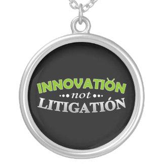Innovation NOT Litigation Necklace