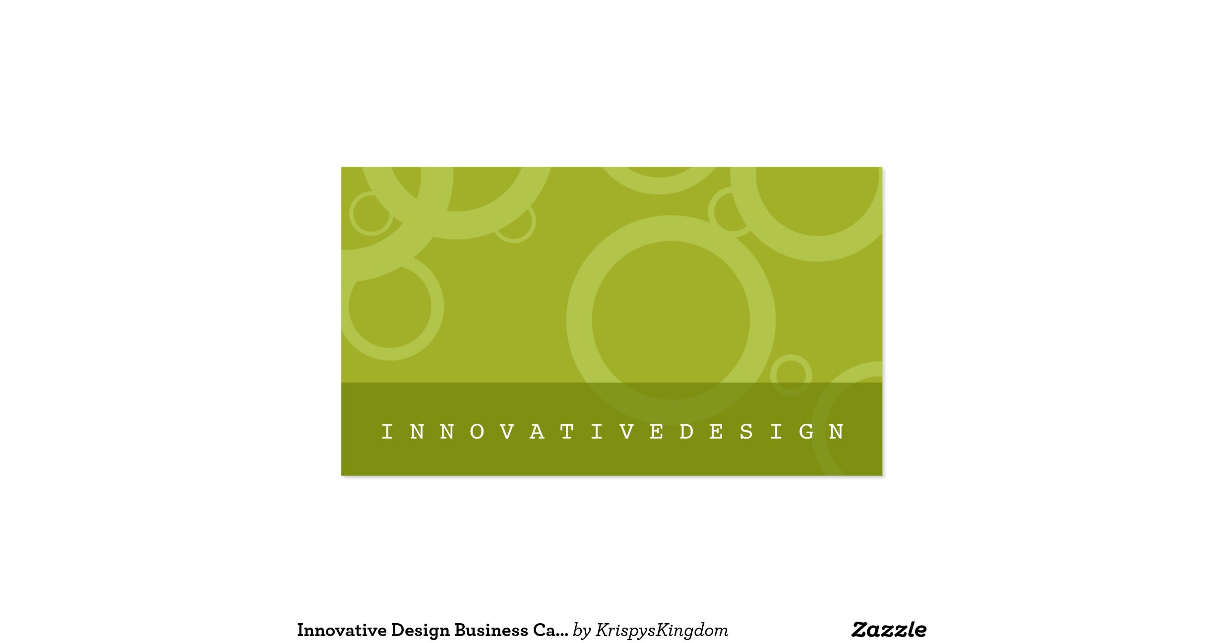 Innovative design business cards for Innovative design company
