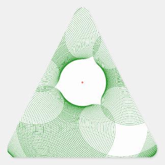 Innovative Designs Triangle Sticker