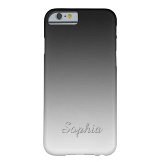 Innovative Fully Customize Your Text Aston's Metal Barely There iPhone 6 Case