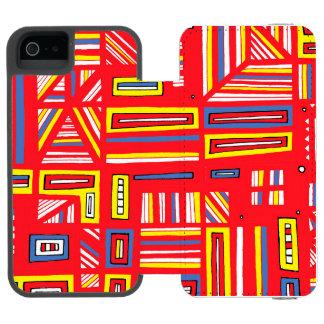 Innovative Intelligent Discreet Effervescent Wallet Case For iPhone SE/5/5s