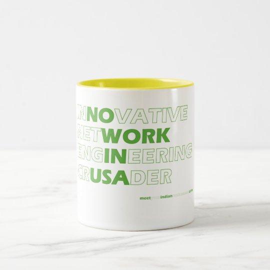 Innovative Network Engineering Crusader Two-Tone Coffee Mug