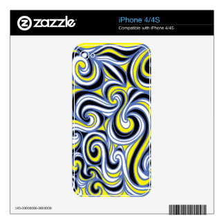Innovative Simple Warmhearted Moving Skin For The iPhone 4