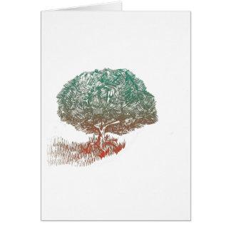 Innovative Tree Greeting Card