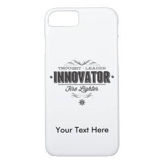 INNOVATOR w/ Your Custom Text iPhone 7 Case